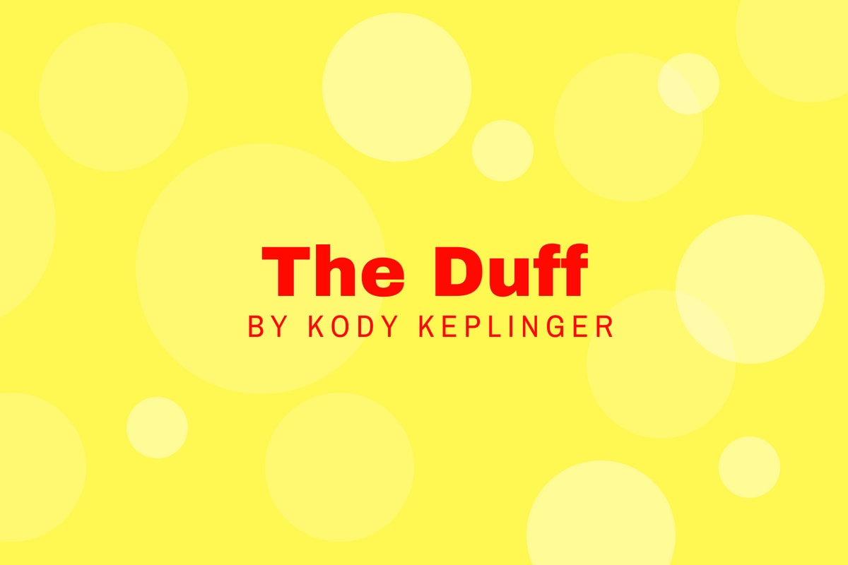 Review of The Duff by Kody Keplinger- michalah francis