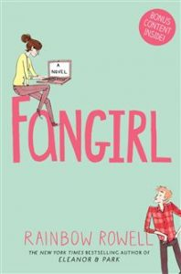 fangirl by rainbow Rowell review - michalah francis