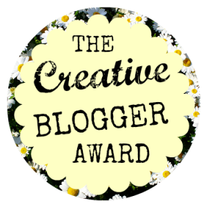 creative blogger award - michalah francis