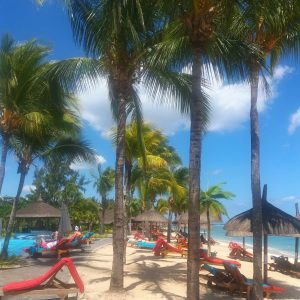 staying at le Meridien ice Maurice - michalah francis