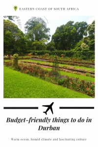Budget-friendly things to do in Durban michalah francis
