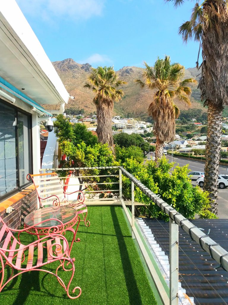 nside our Gordon's Bay Airbnb the affordable way to travel michalah francis 3
