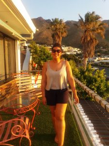 nside our Gordon's Bay Airbnb the affordable way to travel michalah francis 11