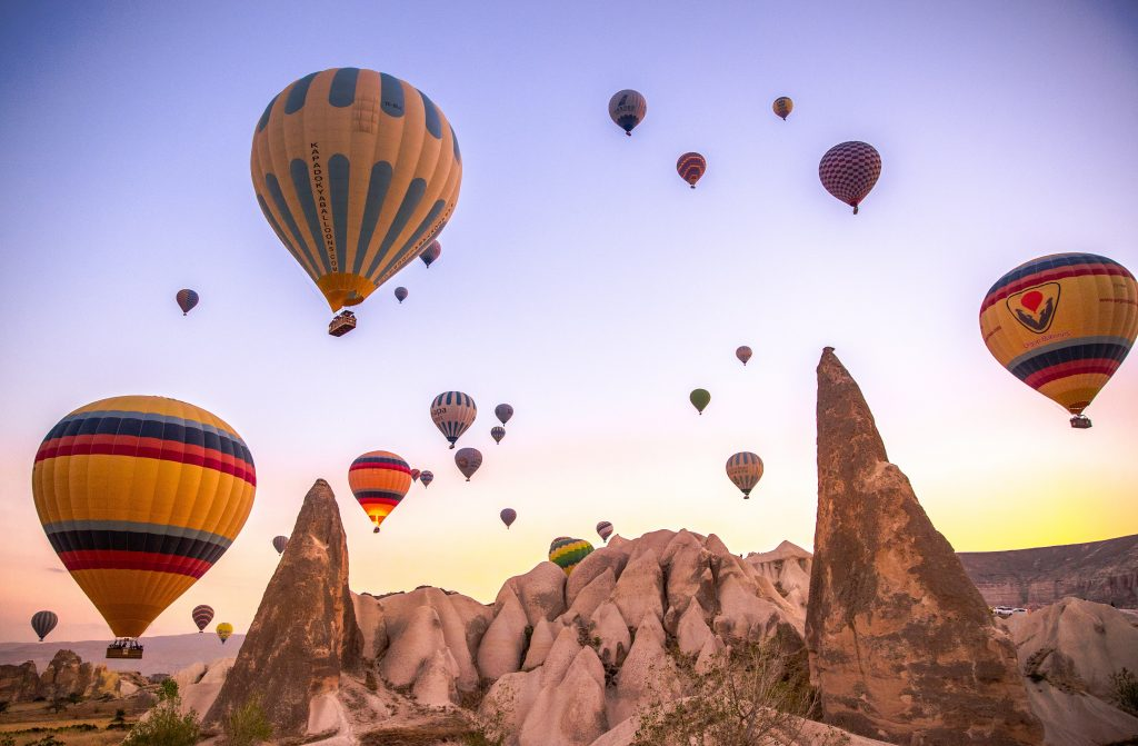 Cappadocia michalah francis dream travel bucket list hot air balloon