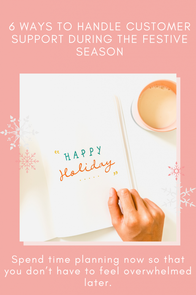6 ways to efficiently handle customer support during the festive season michalah francis social media manager copy