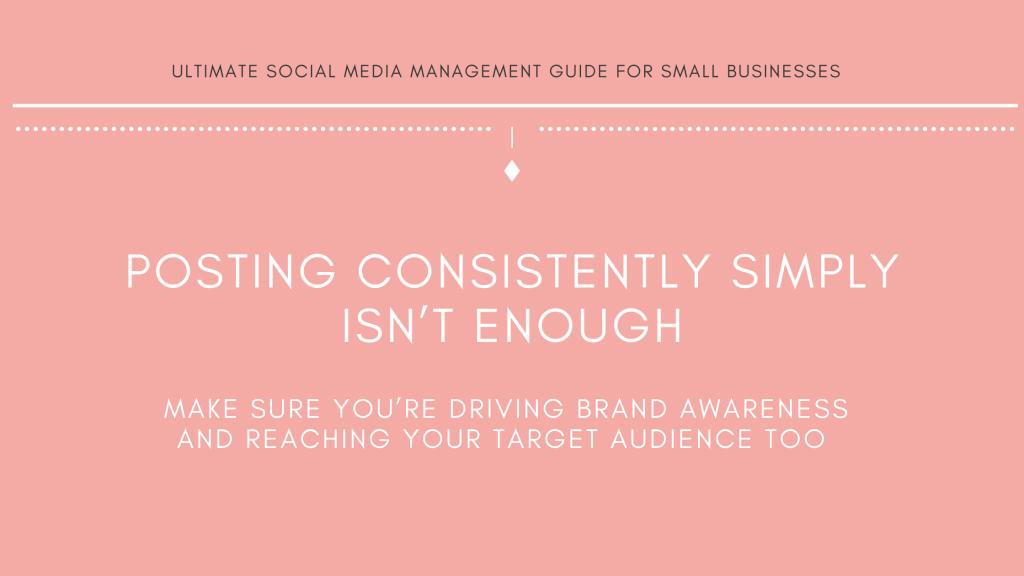 Michalah Francis Ultimate social media management guide for small businesses growing brand awareness online